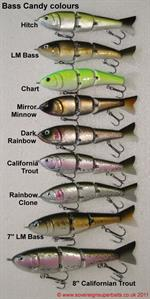 Bass Candy wood bait