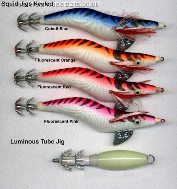 Luminous Fishing Lures Baits Squid Jigs Hook Light Green Fishing Lure Hook EP