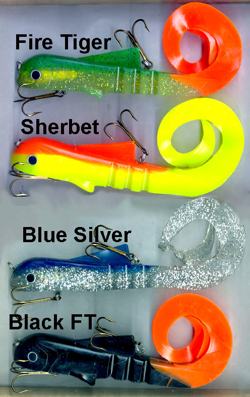 Mag Bobcat lure colours