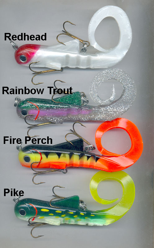 Spring Bobcat lure, New colours