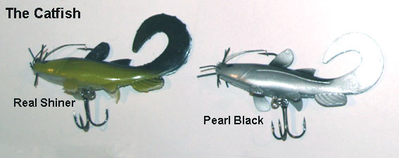 Catfish lure Colours