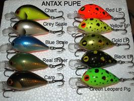 Antax Pupe Serbian hand made fishing lure