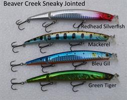Beaver Creek Sneaky Jointed - Bass lure