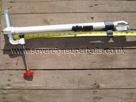 Portable heavy duty sonar stick mount