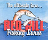 Red gill fishing lures logo