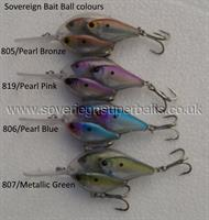 Sovereign bait ball - alphabet lure - hard bait